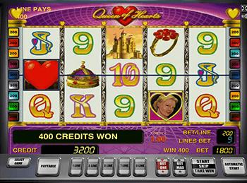Игровой автомат queen of hearts джекпот рейтинг слотов рф игровые автоматы от atronic